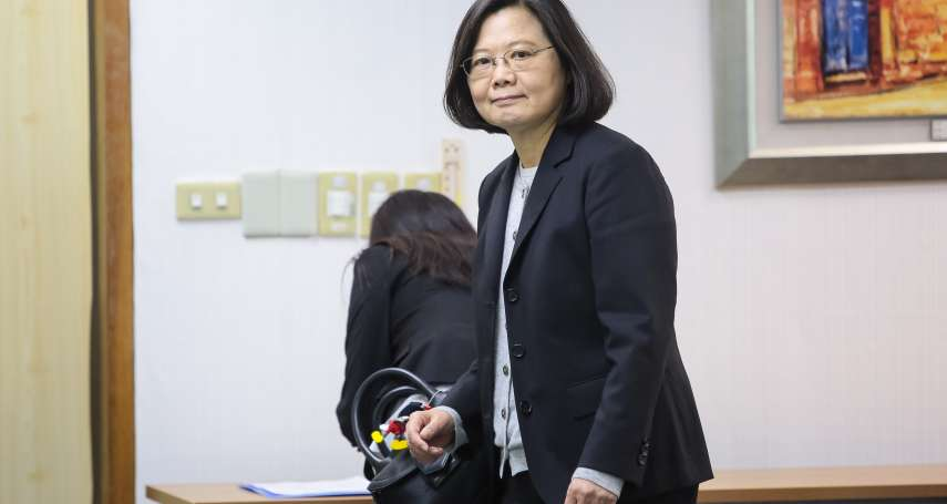 前法官性騷擾只罰款 蔡英文:台灣離性別平等還有一段路