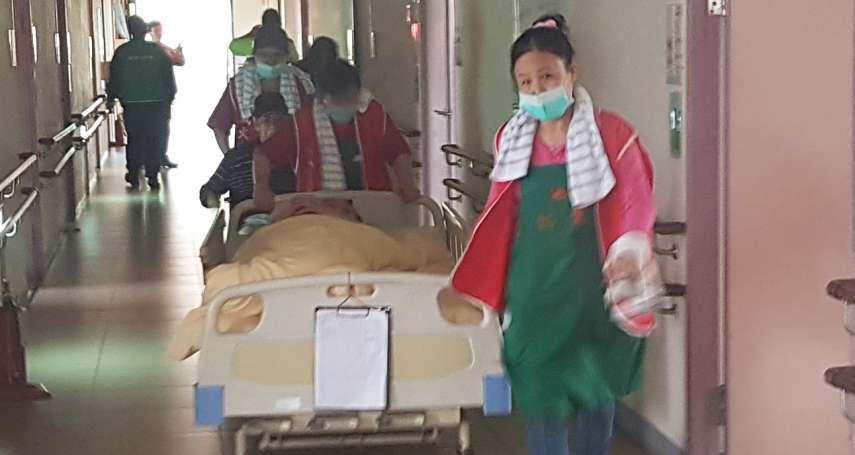 竹市消防局老人機構火災搶救組訓 移地新竹榮家實地演練