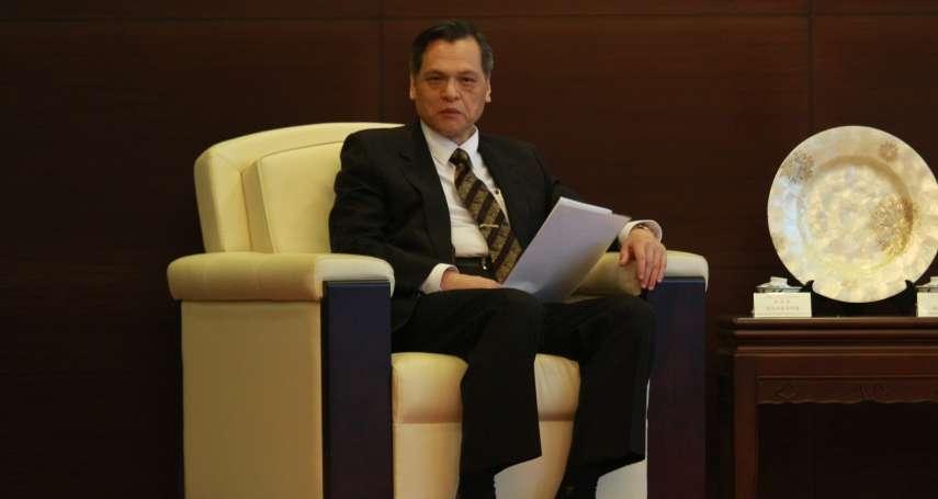陳明通訪美:中華民國不可能讓渡主權換取虛幻和平
