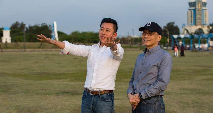 帶林全夫婦訪視「新竹漁人碼頭」 林智堅:感謝院長當初支持