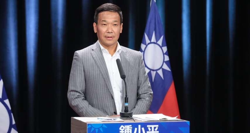 藍營台北市長初選辯論》鍾小平緊咬丁守中 孫大千「護丁」遭砲火波及