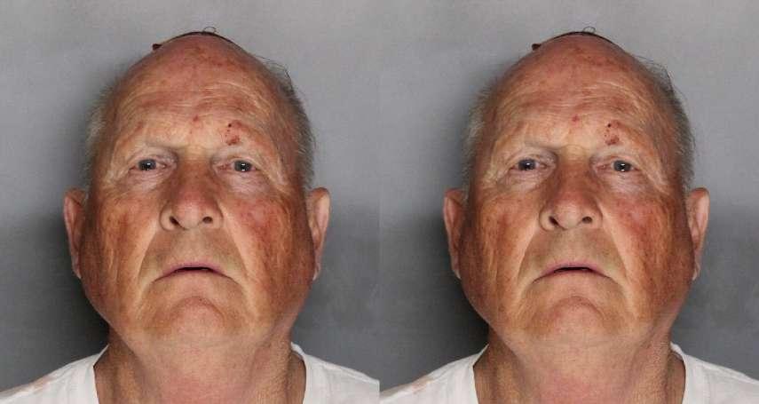 性侵45人、殺害12人,卻逍遙法外超過40年 美國「金州殺人魔」終於落網!