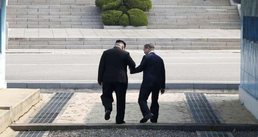 「那我什麼時候可以到北韓?」「我現在帶你來吧!」在板門店展現靈活權變風采的金正恩