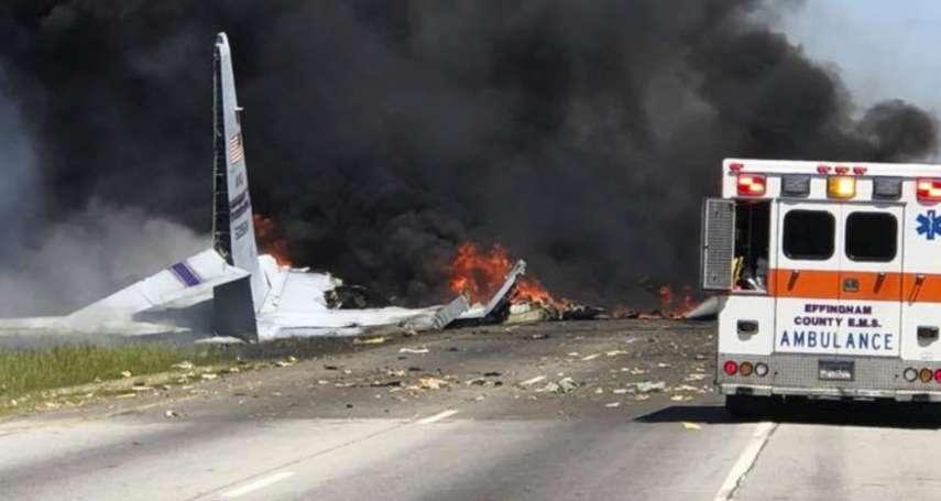 美國軍方墜機悲劇》半世紀機齡「老母雞」,最後一次飛行,9名機組員全走了