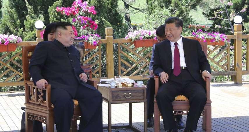 川金會前拉攏中國、抗衡美國》金正恩再訪中國 與習近平大連海邊散步