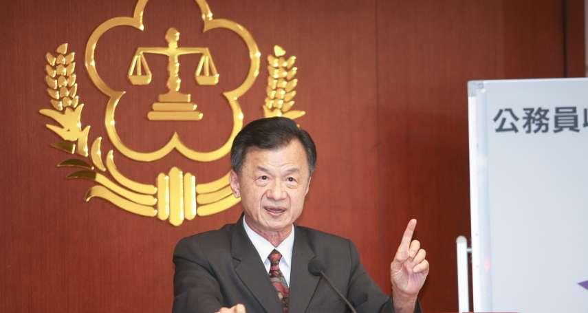 法務部啟動查賄選、暴力 邱太三:勿以身試法