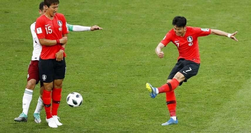 世足賽果》F組:韓國傷停補時踢進一球,仍吞第二敗晉級希望渺茫