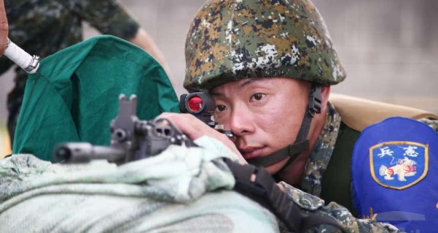 因應反恐維安,憲兵配備再升級!新式步槍「內紅點瞄準鏡」讓射擊更快更準