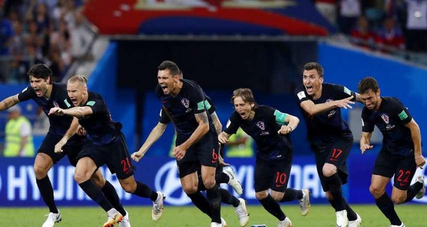 世足賽果》8強:克羅埃西亞打破魔咒,俄羅斯主場驚奇告終