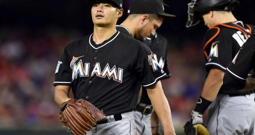 MLB》陳偉殷失7分苦吞第6敗 馬林魚被打爆狂失18分