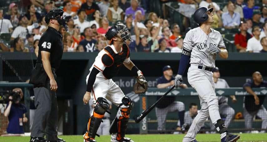 MLB》洋基上半季154轟 改寫全壘打紀錄
