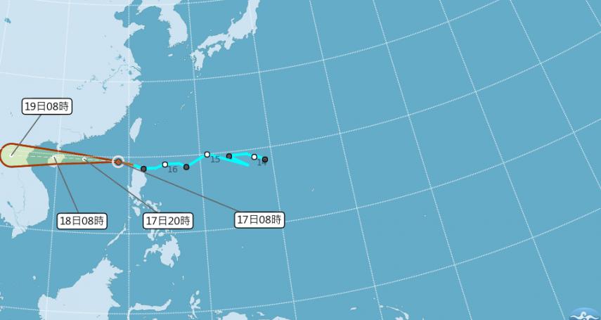又有颱風!「山神」形成、「安比」醞釀中 彭啟明:估周末影響台灣