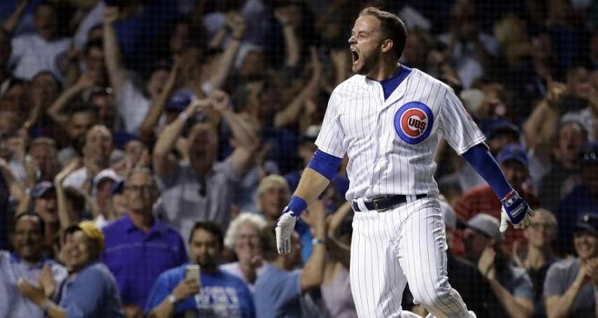 MLB》小熊上演大逆轉 史上第29號「超級再見滿貫轟」氣走國民