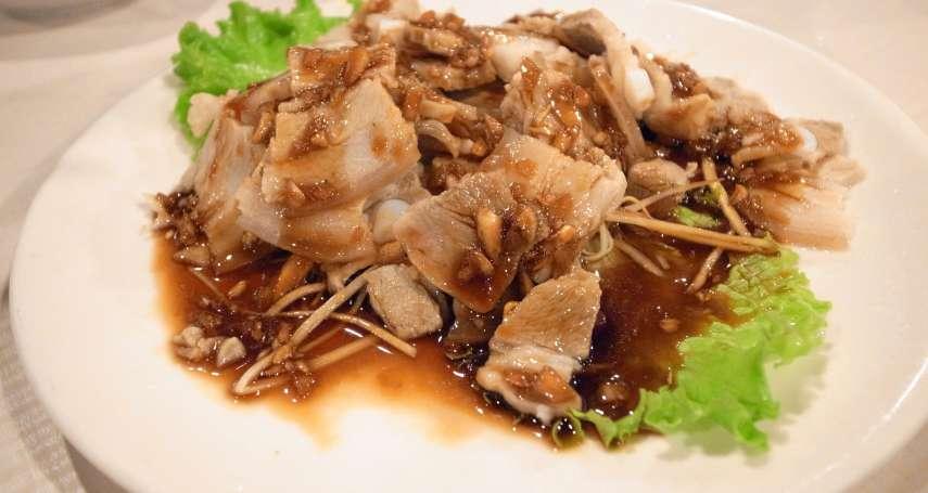 蒜泥白肉淋醬油膏,其實超NG?內行人公開「正宗川菜」做法:原來關鍵在醬汁!