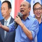 國民黨總統初選名單公布,五位候選人你最支持誰?(選項依姓名筆劃排序)