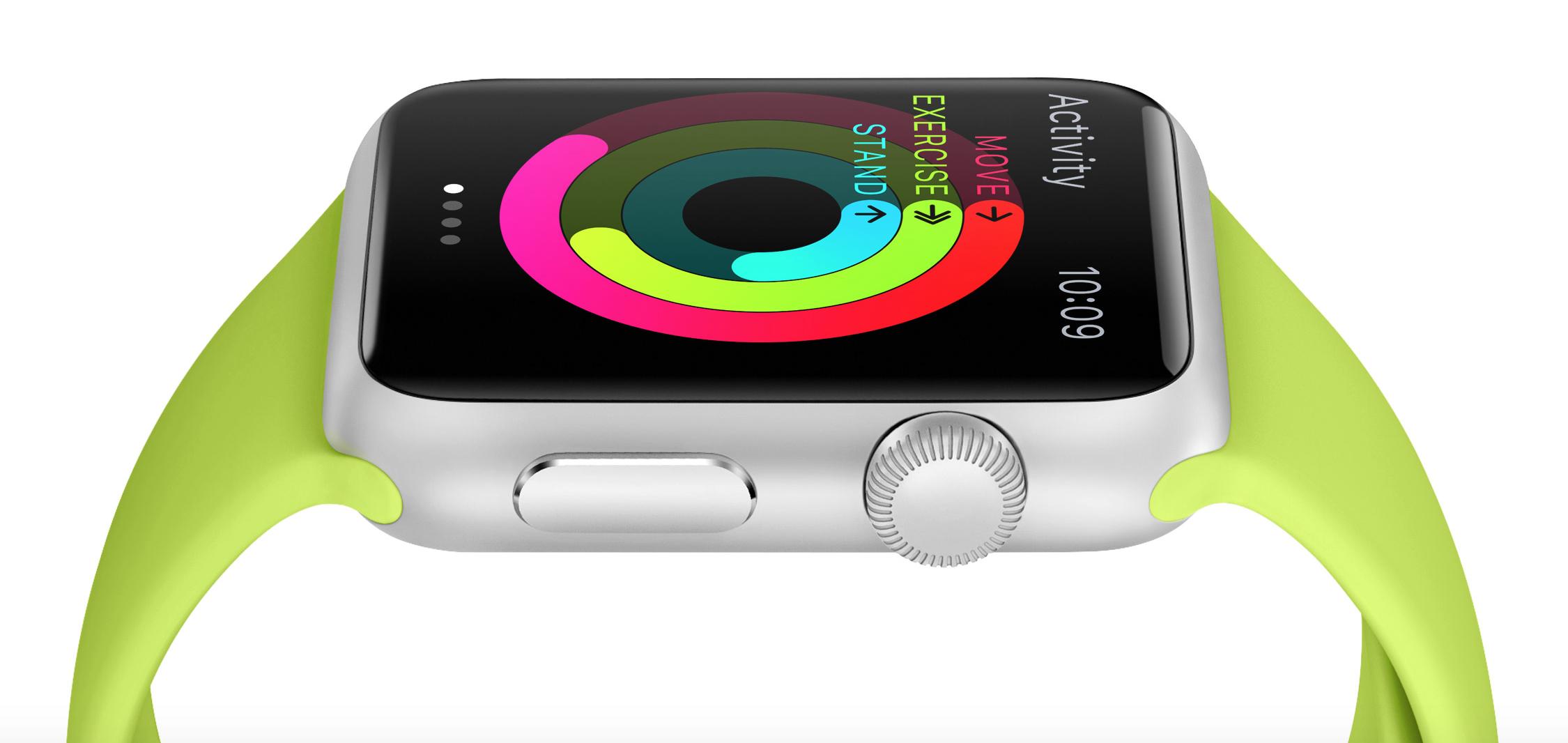 Apple Watch可偵測使用者的運動狀況。(蘋果官網)