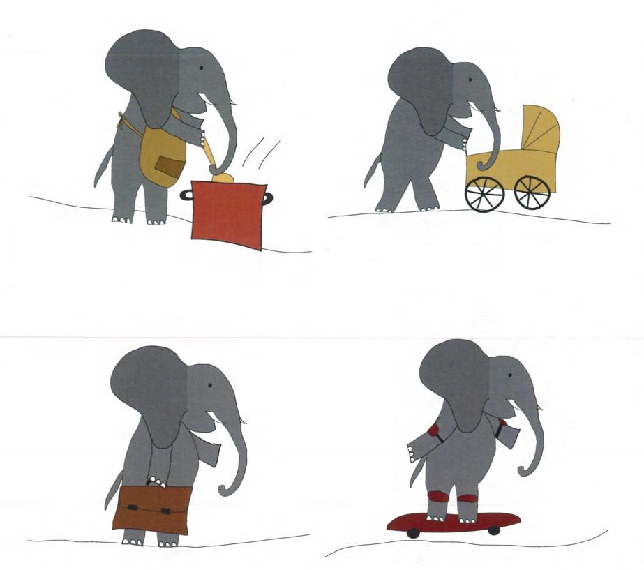 這些大象是男生還是女生?
