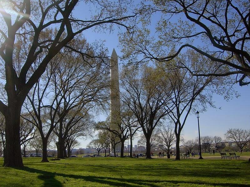 ↑有人說華府的華盛頓紀念碑是陽具崇拜建築