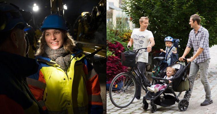 兩性平等的瑞典