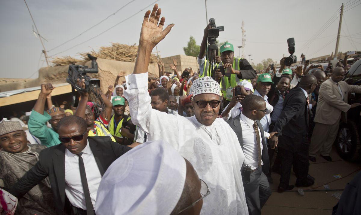 奈及利亞新任總統布哈里(Muhammadu Buhari)