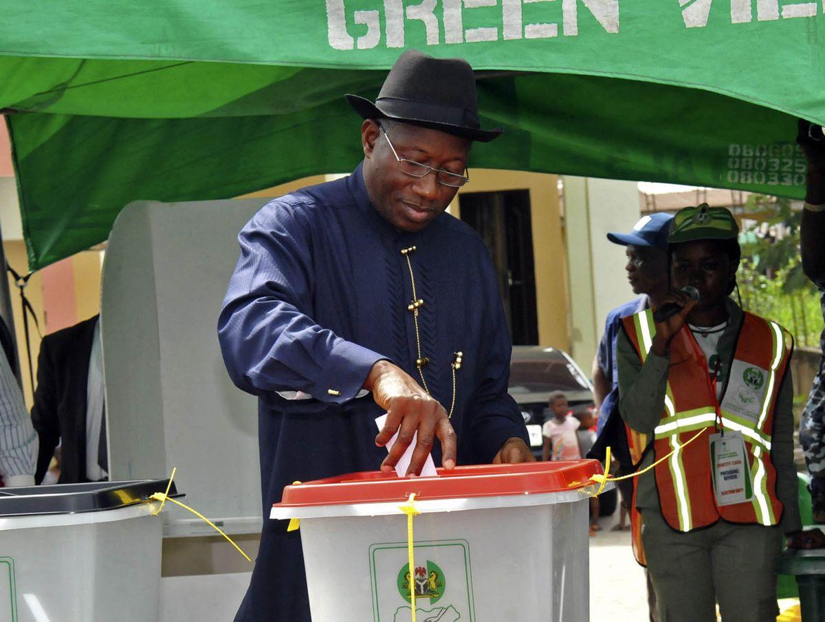 奈及利亞現任總統喬納森