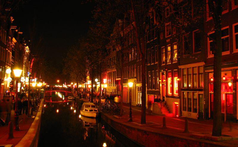 荷蘭阿姆斯特丹紅燈區