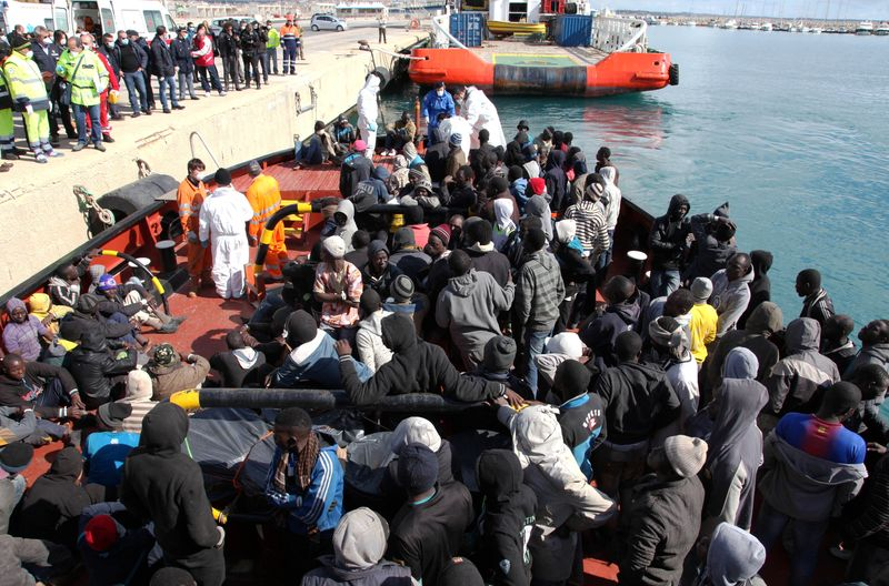 地中海移民危機