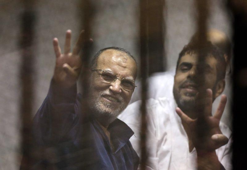 埃及前總統穆爾西的同案被告