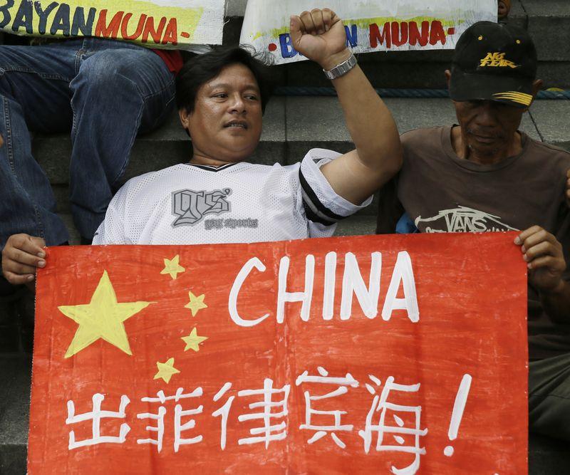菲律賓爆發反中國示威