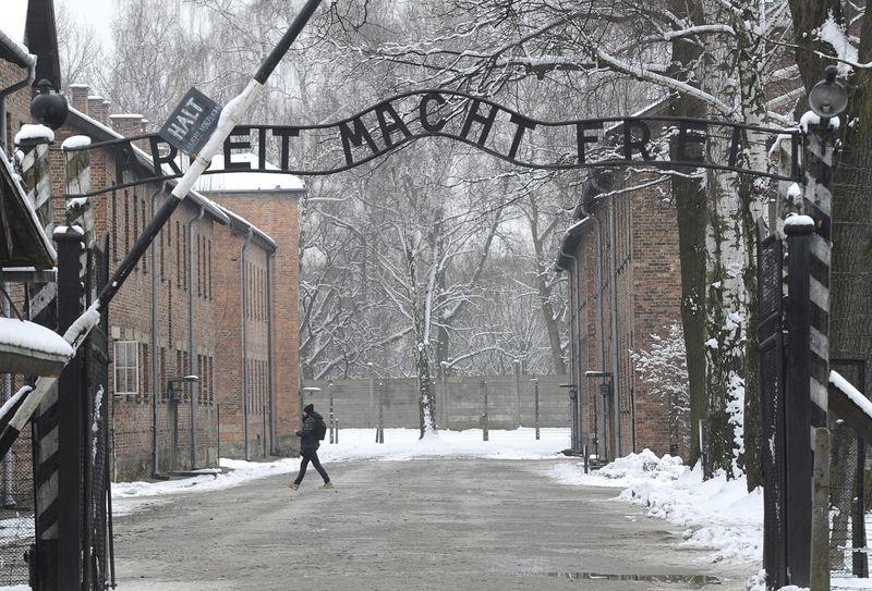 波蘭奧斯威辛集中營,匈牙利政府遣送了將近44萬猶太人到這裡。