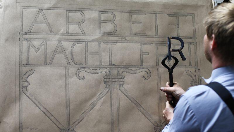 達豪(Dachau)納粹集中營鐵門