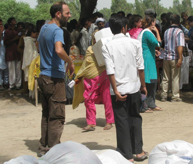 義大利人質洛波托(Giovanni Lo Porto)在巴基斯坦進行援助工作