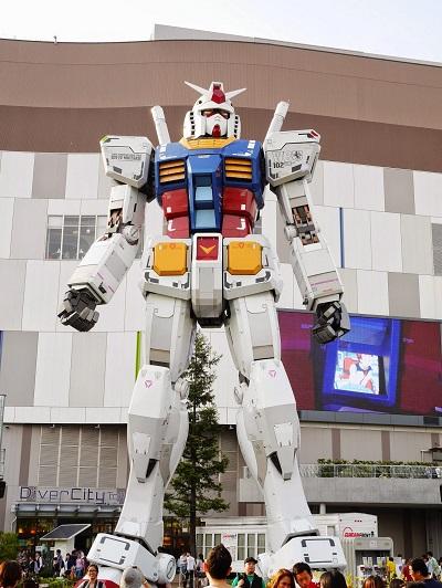鋼彈東京最前線,聚集所有鋼彈迷的夢想。(圖/來源)