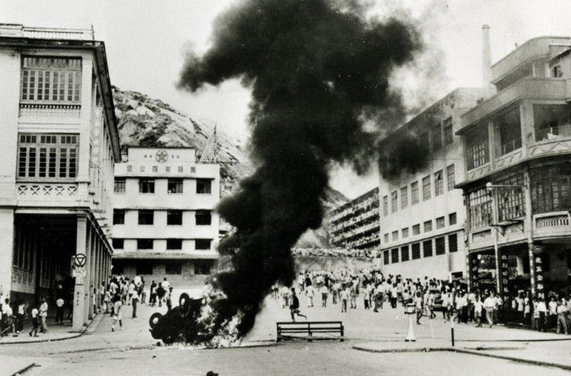 香港雙十暴動。(取自網路)