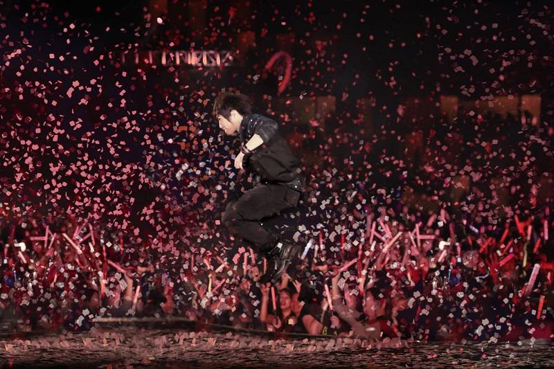 阿信音樂會的熱況。(圖片來源:相信音樂)
