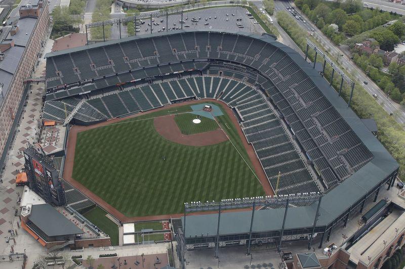 巴爾的摩金鶯隊(Baltimore Orioles)的坎登球場(Camden Yards)