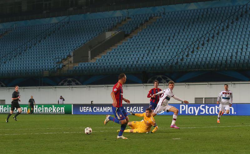 莫斯科中央陸軍足球俱樂部(CSKA Moscow)的無觀眾比賽