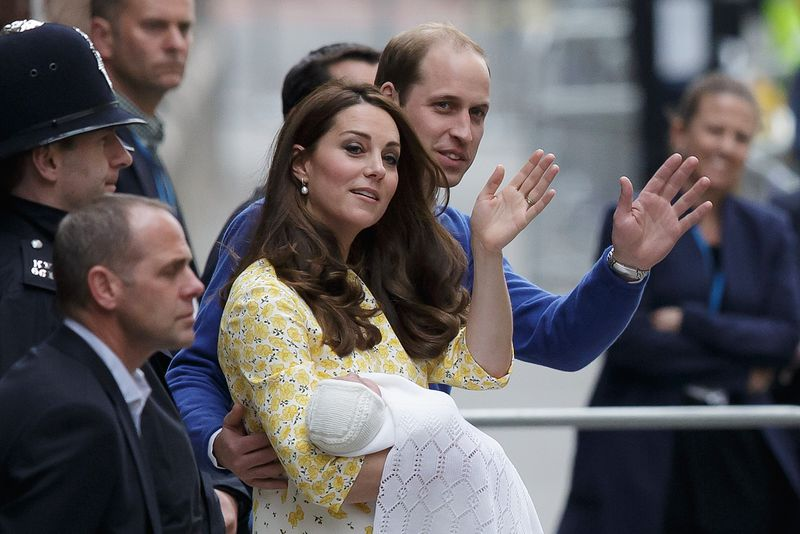 凱特、威廉與小公主