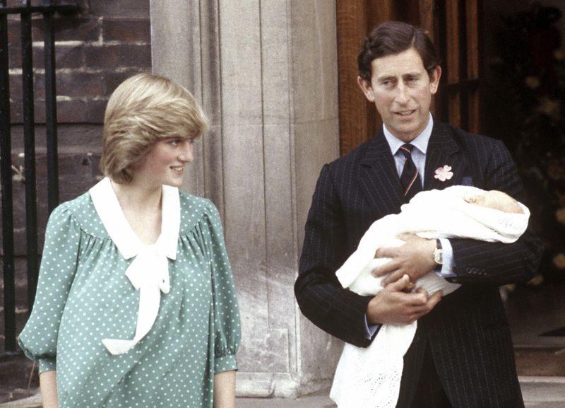 黛安娜、查理與威廉