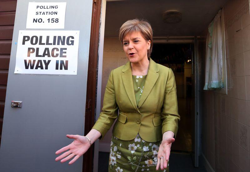 蘇格蘭獨立黨領導人史特金
