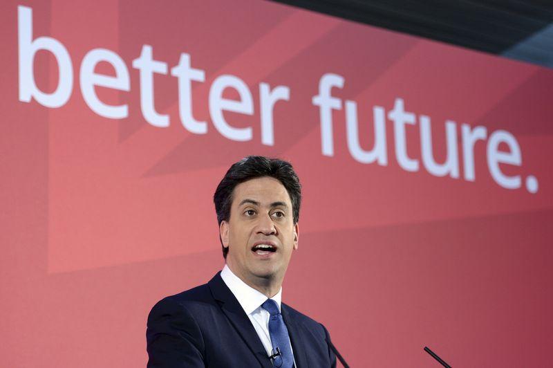 工黨領導人米勒班抨擊保守黨惡化貧富不均