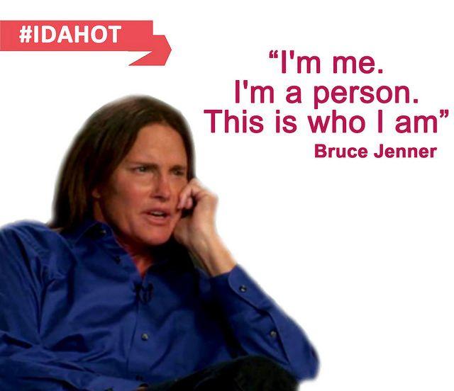 「我就是我。我是一個人。這就是我的本質。」