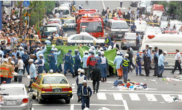 2008年在東京秋葉原發生的無差別殺人事件,這場震驚日本社會的事件共造成7死10傷的慘劇。
