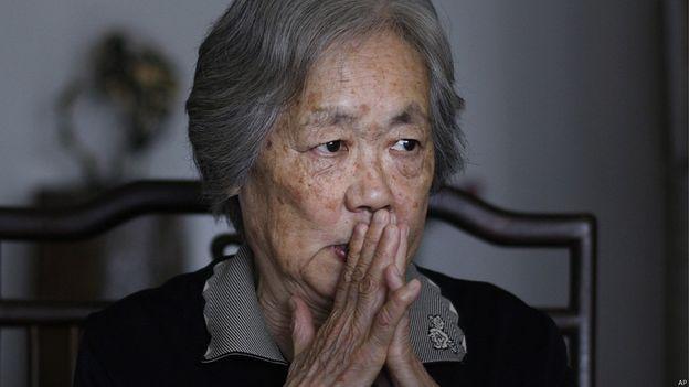 丁子霖據信被軟禁家中。(BBC中文網)