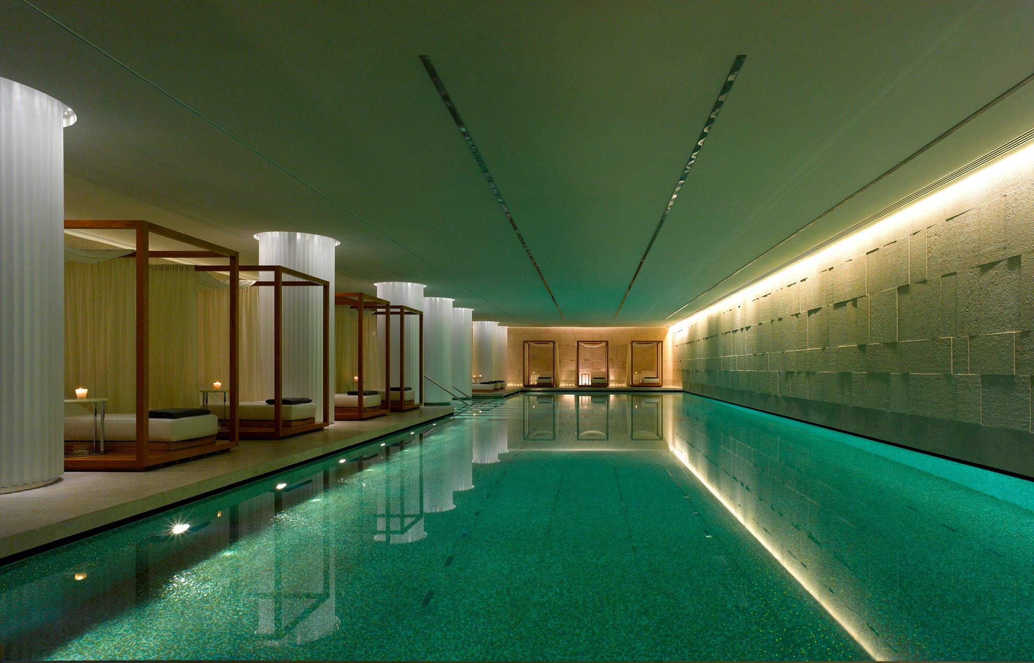寶格麗旅館世界最大地下泳池(圖/Bulgari Hotel & Residence, London@Facebook)