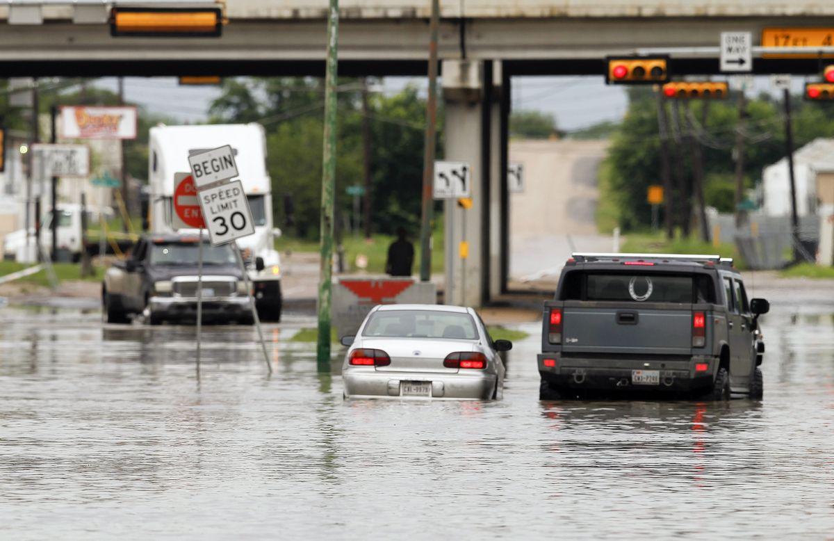 美國德州鬧洪水