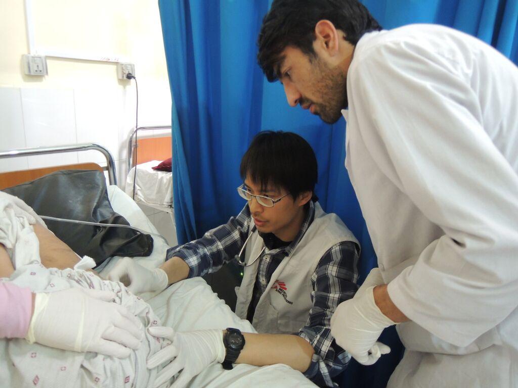 無國界醫生(MSF)組織志工(MSF提供,Photo credit: © Laura Lee/MSF)