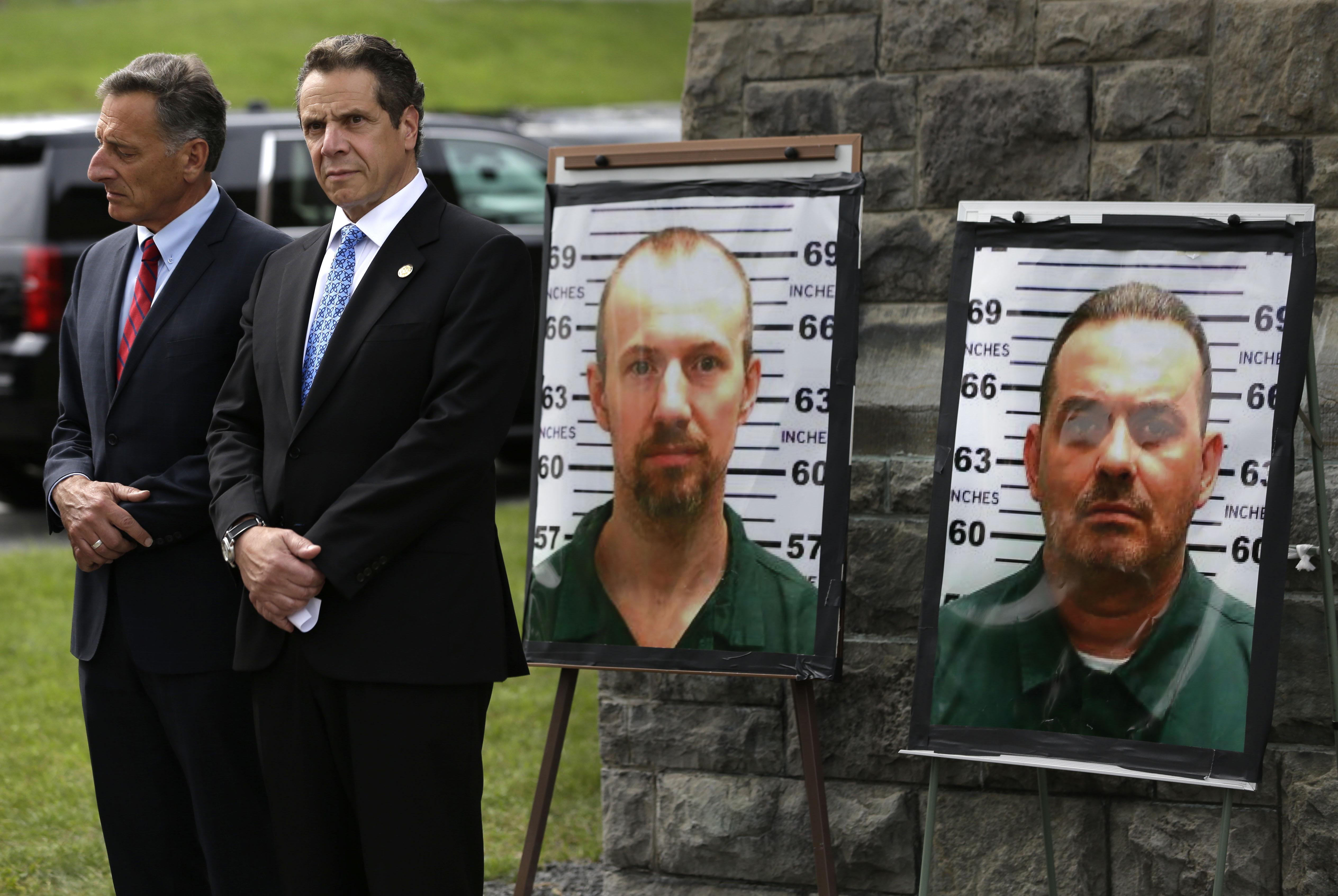 柯林頓監獄越獄案 兩名逃犯。(美聯社)
