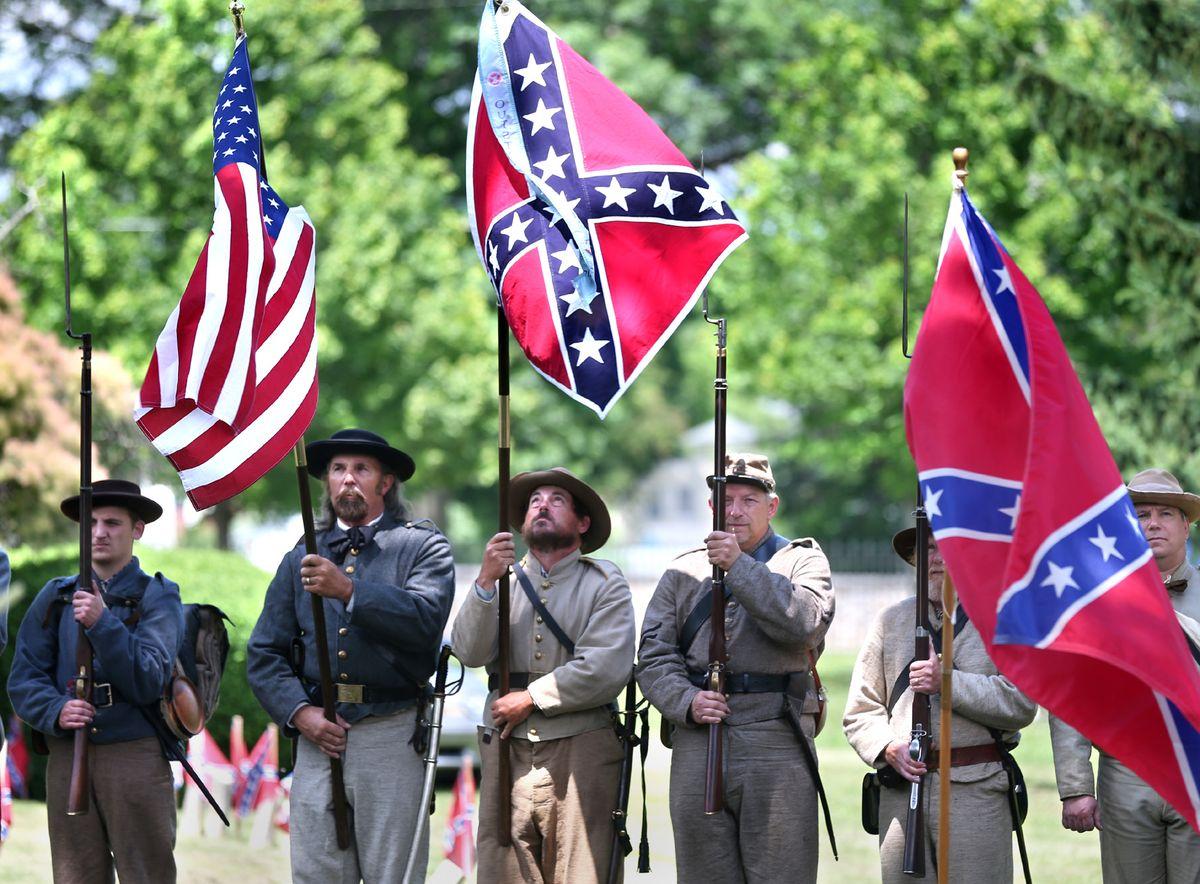 邦聯旗(Confederate flag)爭議