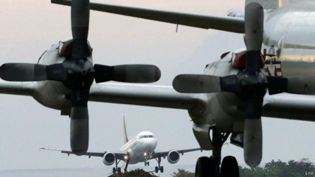 預定日本P3C軍機與菲律賓軍機一起飛行,主要實施掌握空域情況的訓練。(BBC中文網)